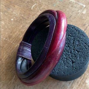 Jewelry - Bracelet authentic leather 💕